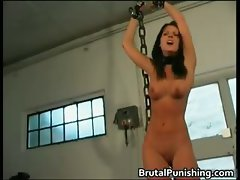 Hardcore bondage and brutal punishement part6