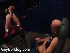 Ashley Ryder and Lee Jaguar in hardcore part6