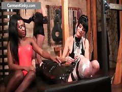 Bigtits Carmen fisting s and m hard core part6