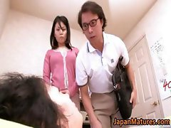 Miki Sato aroused real asian mum part3