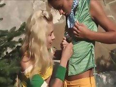 Outdoor croatian lesbian pussy fingering