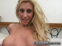 Knockers mum fingers fornicates her part2
