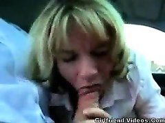Cheating British Wife Lunch BJ