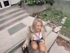 A Czech Public Girl