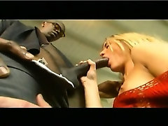 beautiful blonde with a big black man part 1