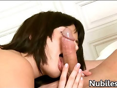 Blow after vaginal sex