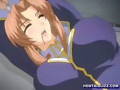 Captive hentai bigboobed hard fucked her wetpussy by old guy
