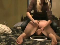 prostate milking handjob wife crazy