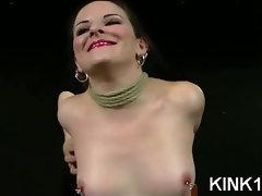 Bound Big Tits Teased