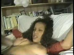 Ebony Likes A Big Cock