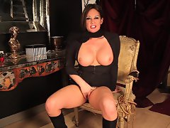 Milf Jerkoff Instruction with Assplay