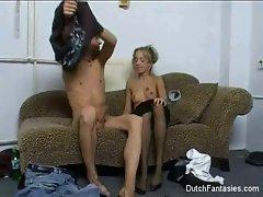 Dutch Couch Sex Long