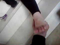 fetichismo de pies con mi amiga pilar