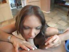 Hot Euro Anna Nova Smoking Blowjob