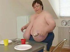 BBW Mature with Huge Boobs