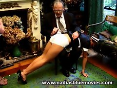 Andrea &amp,#039,Nadia&amp,#039, Spinks gets a spanking