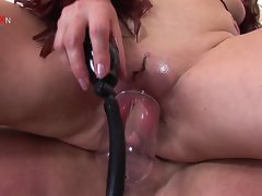 housewife pussy assault extreme pumping and fisting