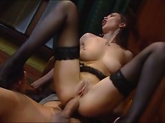 hot milf  takes it up the ass
