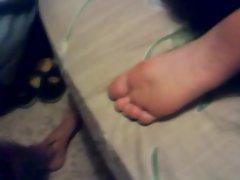 cum her her soles