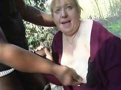 French fat mature housewife Anne-Marie