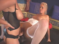 kathy interracial 3some