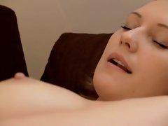 a danish girl masturbates