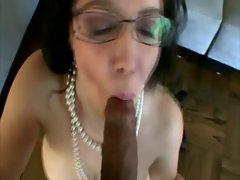 This hard on is exactly what she wants from him for her mouth
