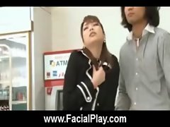 BukkakeNow - Asian sluts love facial cumshots 20