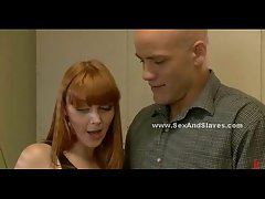 Sultry ginger gets fucked