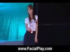 BukkakeNow - Asian sluts love facial cumshots 06