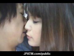 Cute Japanese Teens Expose In Public 22