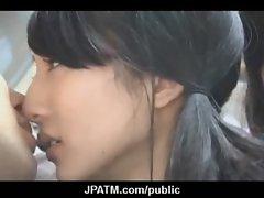 Cute Japanese Teens Expose In Public 20