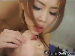 Futanari Teen Fucks Busty Coed!