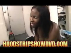 black hood ghetto Strippers Count Tips