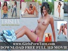 Trisha beautiful girl put her tongue in her pussy full movies