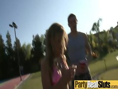 Sexy Girl Get Hard Fucked At Party video-06