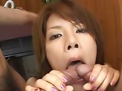 sexy asian anal fucking with stocking