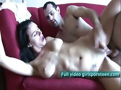 Kate vaginally continues fucking her fingering
