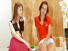 Two russian teenagers Natasha and Beata