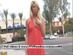 Brynn ingenious amateur blonde posing