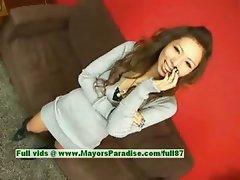 Misa Tsuchiya innocent chinese girl is posing