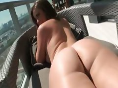 Sultry hot girlfriend asshole reamed on homemade sextape