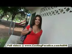 Jynx Maze amateur latina brunette teen flashing and fisting