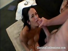 Babe Receives Cast For First Porn Scene