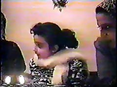 Vintage video of a couple doing the deed in their bedroom