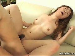 Arisa Kumada hammered by hard cock