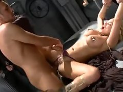 Shyla Stylez anal sex in the dungeon