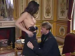 European is glamorous and craves hard cock