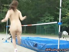 Real real asian amateur in nude track part4