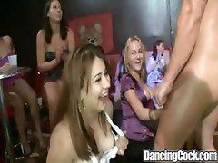 Dancingcock Huge Cock BJ Party